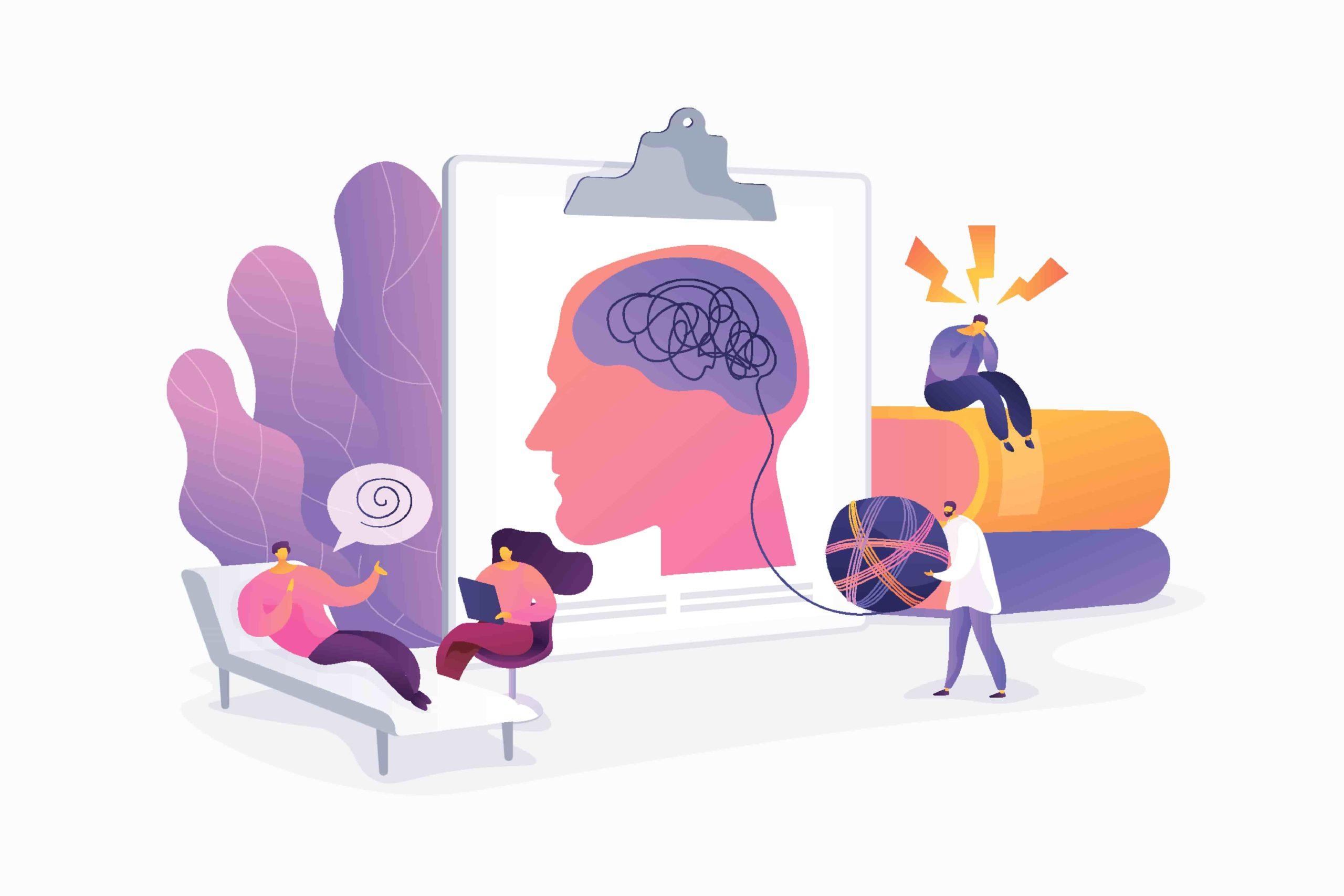 Psicólogo en terapia