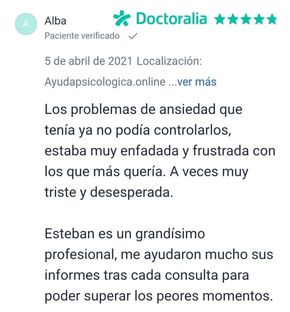 Opinión de ayuda psicológica online